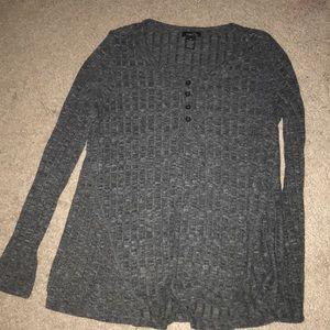Rue 21 Dark grey sweater